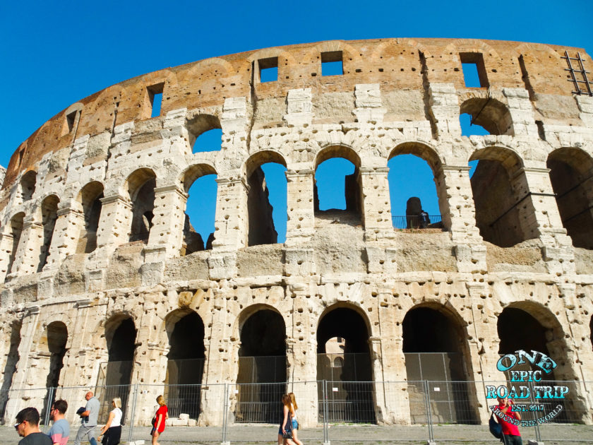 colosseum by day outside - One Epic RoadTrip