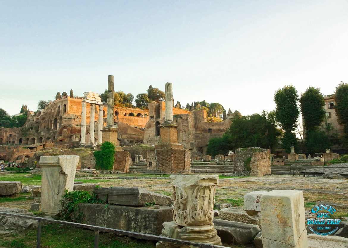 Roman forum - One Epic Road Trip