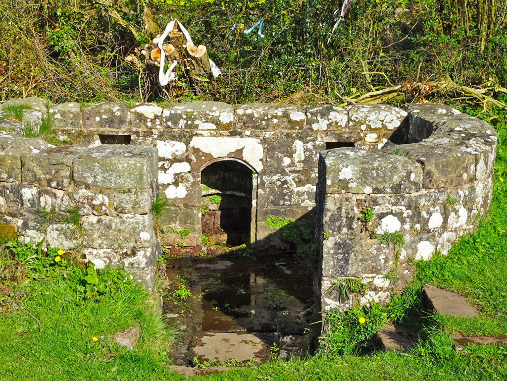 The Virtuous healing well Trellech (Strolls 'n' Stories) One Epic Road Trip Blog