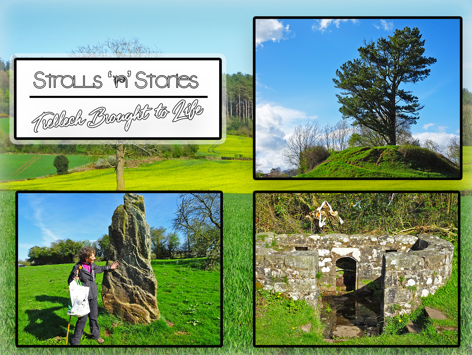 Strolls 'n' Stories Trellech Brought To Life (One Epic Road trip Blog)
