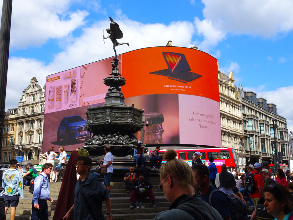 (Piccadilly Circus) London Film Locations you can Visit - One Epic Road Trip