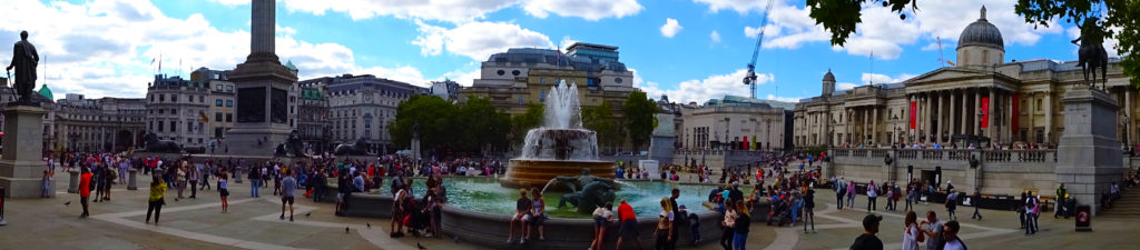 (Trafalgar Square) 11 London Film Locations - One Epic Road Trip