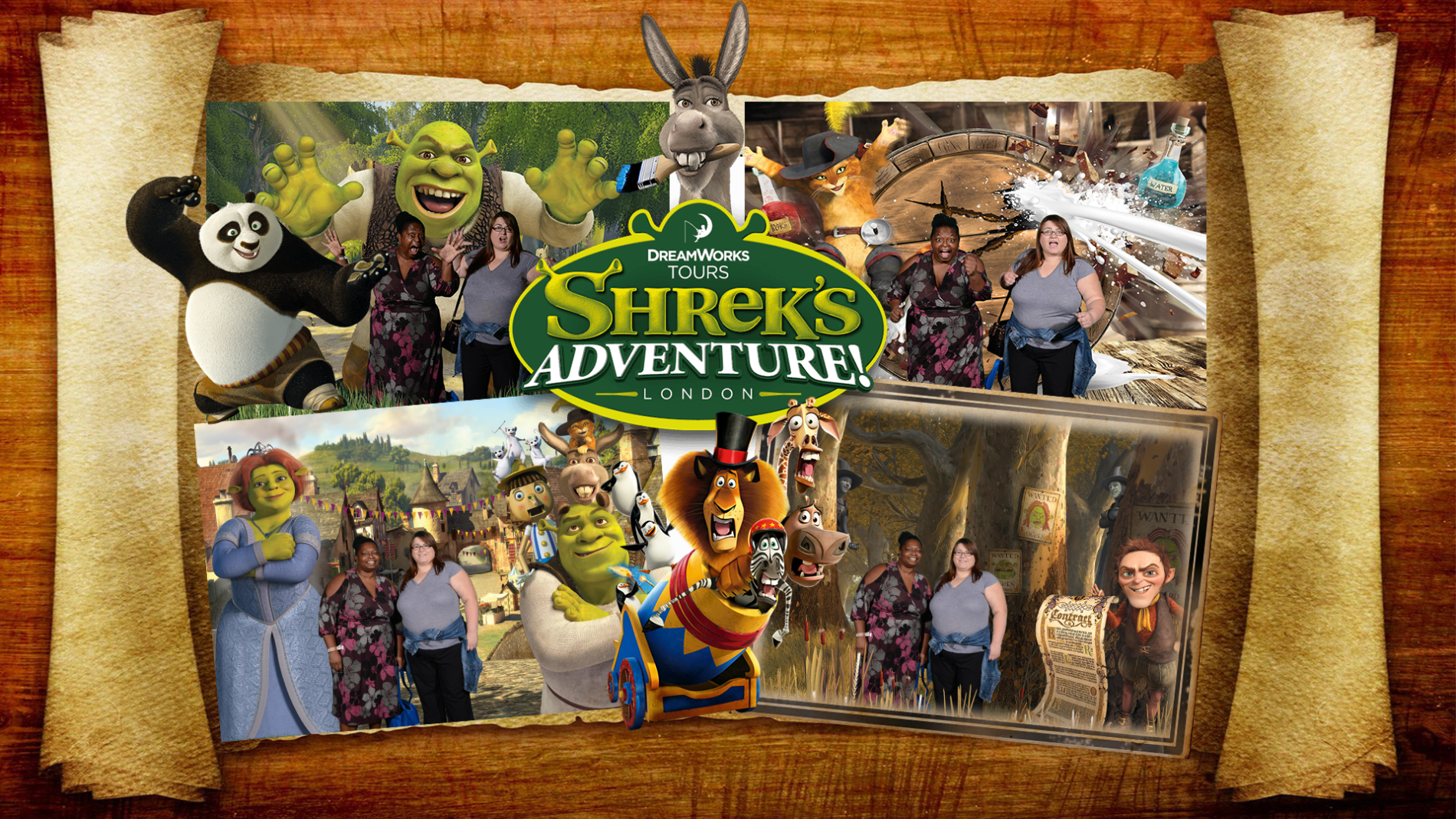 Shrek's Adventure London Review- One Epic Road Trip