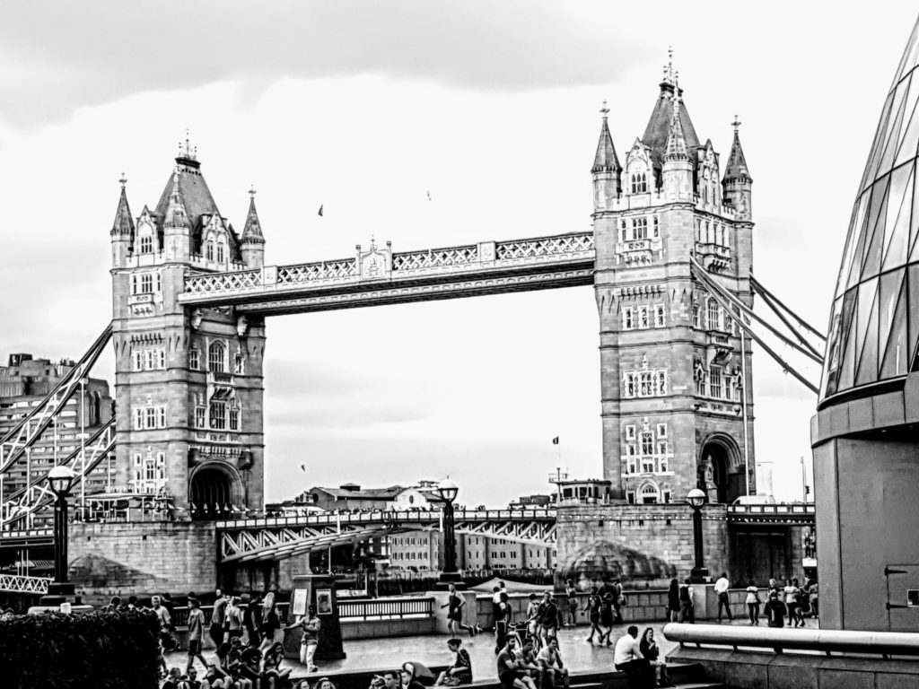 Tower Bridge edited on the Samsung S9+ - One Epic Road Trip~2