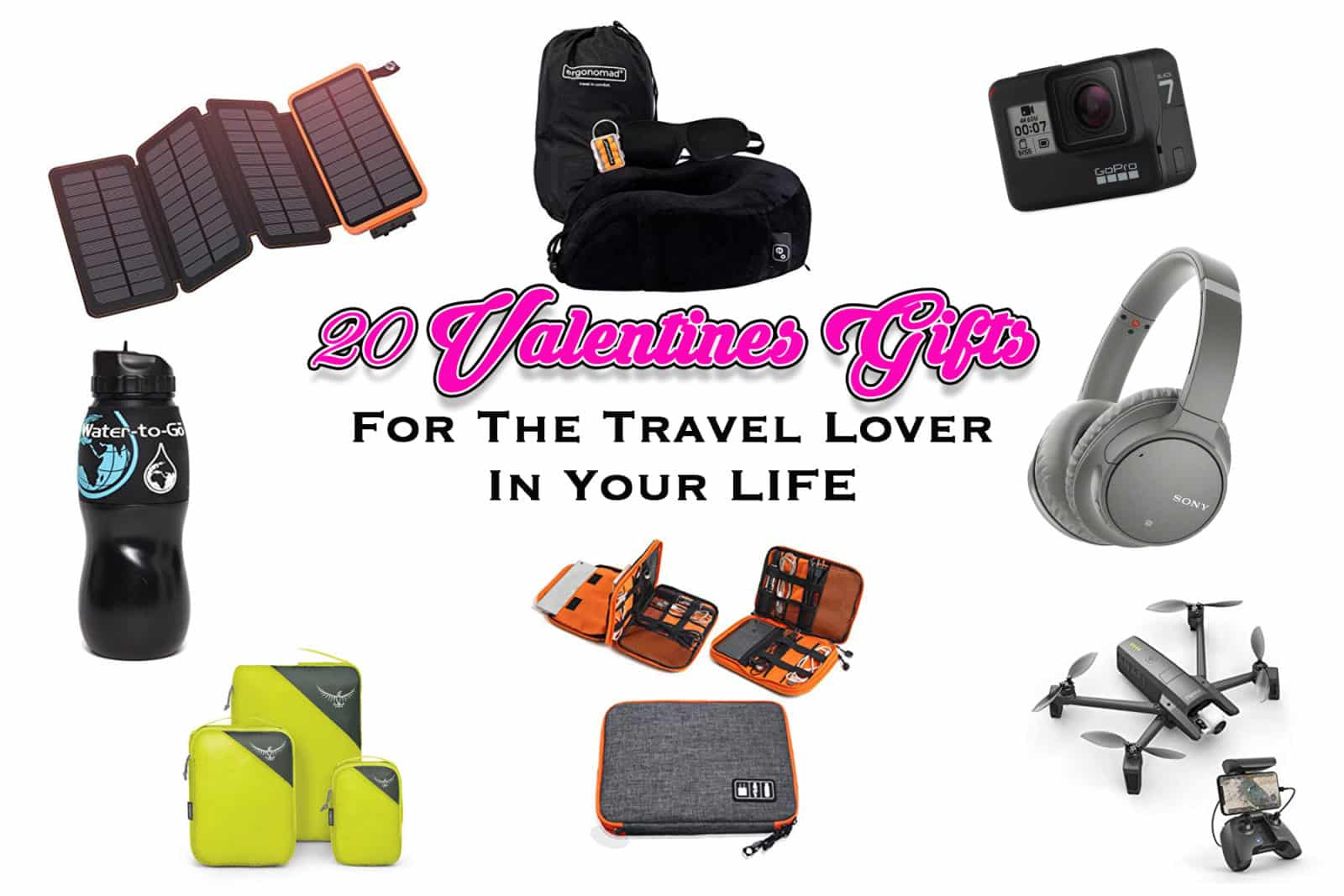 20 Valentines day Gifts For the travel lover in your life - one epic road trip blog