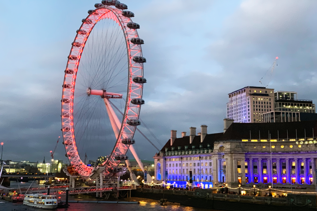 The London Eye - My Travel Plans - One Epic Road Trip Blog