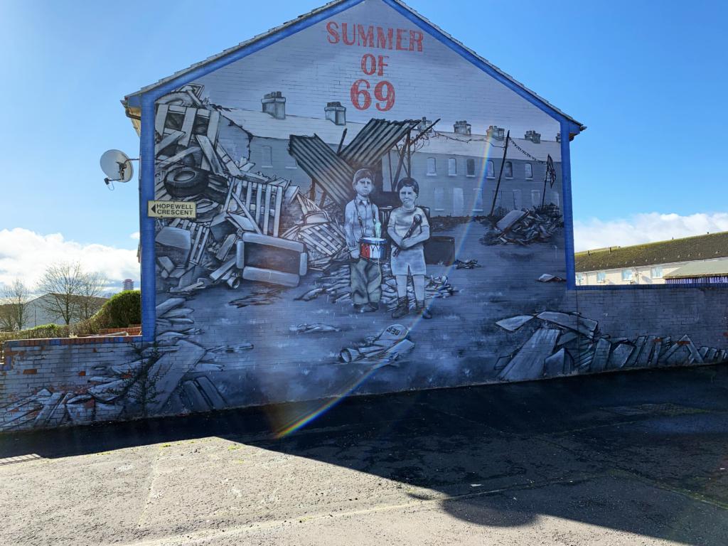 mourials belfast summer of 69